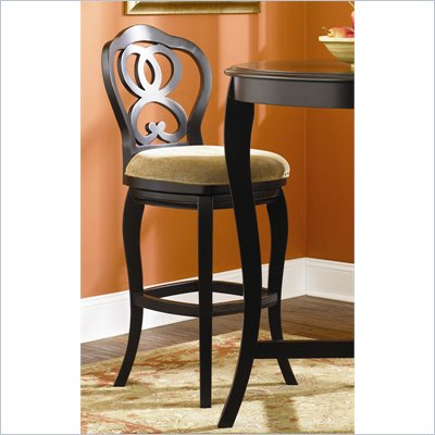 Hammary Hidden Treasures 30&quot; Bar Stool in Black