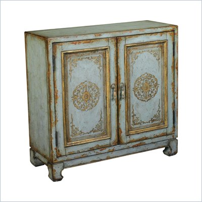 Hammary Hidden Treasures Accent Chest in Distressed Antiqued Blue