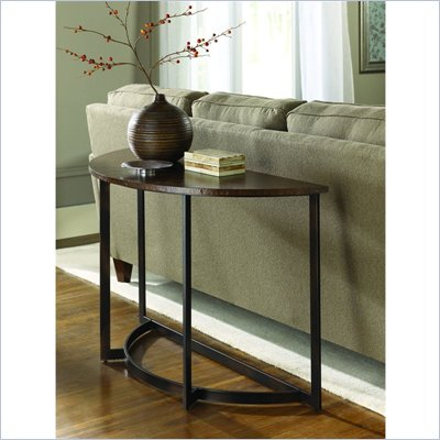 Hammary Nueva Sofa Table in Copper
