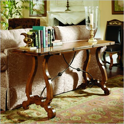 Hammary Siena Flip-Top Console/Dining Table in Tuscany