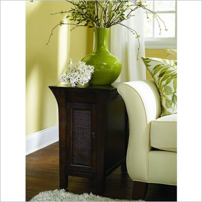 Hammary Urban Flair Chairside Table in Umber