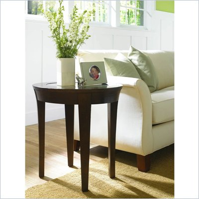 Hammary Urban Flair Oval End Table in Umber