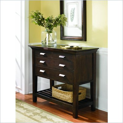 Hammary Urban Flair Hall Chest in Umber