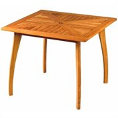 International Caravan 36 Wood Patio Table