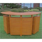 International Caravan WestLake Multi-Section Folding Bar Table