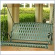 ADD TO YOUR SET: International Caravan Diamond Lattice Iron Outdoor Porch Swing