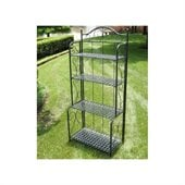 International Caravan Mandalay Iron Indoor/Outdoor Bakers Rack