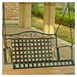 ADD TO YOUR SET: International Caravan Mandalay Iron 4-ft  Porch Swing