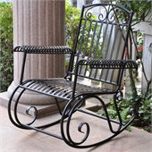 International Caravan Tropico Iron Patio Rocker
