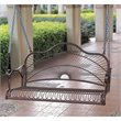 ADD TO YOUR SET: International Caravan Sun Ray Iron Porch Swing