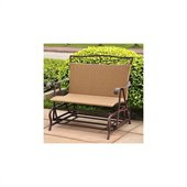 International Caravan Valencia Wicker Double Glider Patio Chair