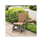 International Caravan Valencia Outdoor Wicker Single Glider Chair
