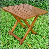 International Caravan Chatham Outdoor 20 Checkerboard Patio Table