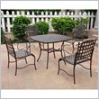 ADD TO YOUR SET: International Caravan Santa Fe Set of 5 Wrought Iron Patio Set