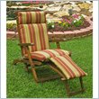 ADD TO YOUR SET: International Caravan Mana Outdoor Wooden Patio Lounger
