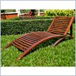 ADD TO YOUR SET: International Caravan Chelsea Outdoor Folding Contemporary Chaise