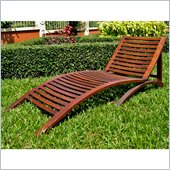 International Caravan Chelsea Outdoor Folding Contemporary Chaise