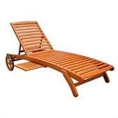 International Caravan Mandalay Multi-Position Outdoor Chaise Lounge