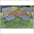 ADD TO YOUR SET: International Caravan Aledo Set of 2 Wicker Resin Patio Chairs