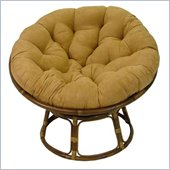 International Caravan Papasan 42 Rattan Chair with Cushion