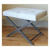 International Caravan Charlotte Large Fabric Vanity Bench