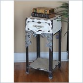 International Caravan Westwood Vintage Antique 1-Drawer Hall Table