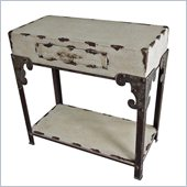 International Caravan Westwood Antique 1-Drawer Hall Table