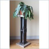 International Caravan Aledo Antique Bar Height Plant Stand