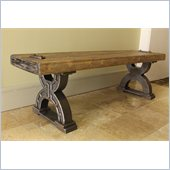 International Caravan Aledo Antique Double Horseshoe Picnic Bench