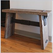International Caravan Aledo Antique Indoor Large Console Table