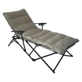 International Caravan Foldable Chaise Lounge in Sage