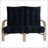International Caravan Loveseat in Black