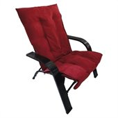International Caravan Foldable Game Chair in Cardinal Red