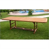 International Caravan Royal Tahiti Dining Table in Balau Stain