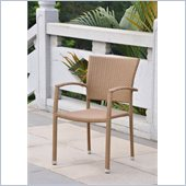 International Caravan BarcelonaPatio Chairs in Honey (Set of 4)