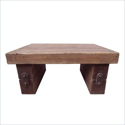 International Caravan Aledo Large Indoor Coffee Table