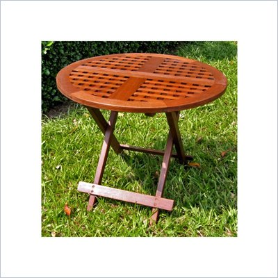 International Caravan Chatham Outdoor 25&quot; Round Patio Table