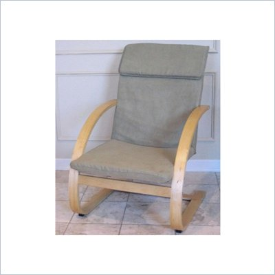International Caravan Fresco Game Chair w/ MicroSuede Fabric in Sage
