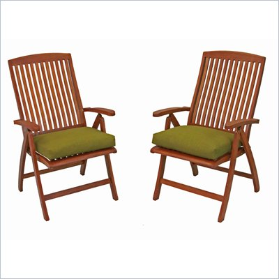 International Caravan Royal Tahiti Outdoor Patio Chair (Set of 2)