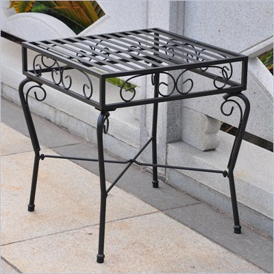 International Caravan Tropico Outdoor Patio Side Table