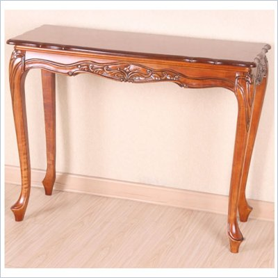 International Caravan Wood Indoor Console Table