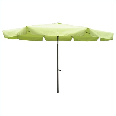 International Caravan 8' Patio Umbrella w/Tilt &amp; Crank (3M Diameter)