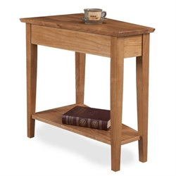 Leick Favorite Finds Wedge End Table in Desert Sands