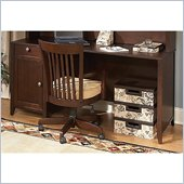 Kathy Ireland by Bush Grand Expressions 66 Desk in Warm Molasses