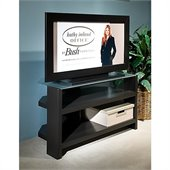 Kathy Ireland by Bush New York Skyline 42 TV Stand in Modern Mocha
