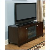 Kathy Ireland by Bush Grand Expressions 47 TV Stand in Warm Molasses