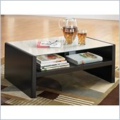 Kathy Ireland by Bush New York Skyline Coffee Table in Modern Mocha