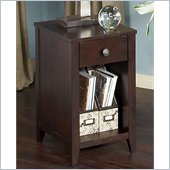 Kathy Ireland by Bush Grand Expressions End Table in Warm Molasses