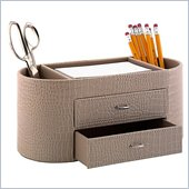 Kathy Ireland by Bush New York Skyline Desktop Organizer