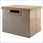 Kathy Ireland by Bush New York Skyline Large File/Storage Bin